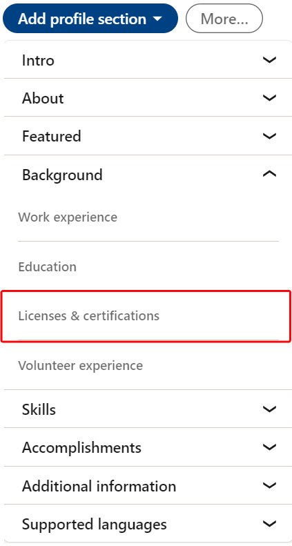 MSBM Certificate Sharing Inofrmation